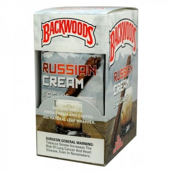 Buy Backwoods Russian Cream Prerolls Online