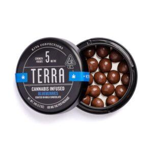 Buy Kiva Terra Milk Chocolate Blueberries Online