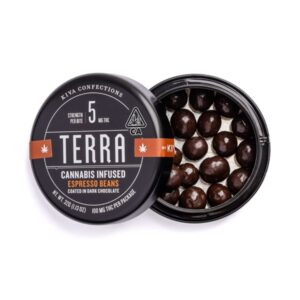 Buy Kiva Terra Dark Chocolate Espresso Beans Online